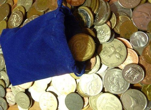 30 World Foreign Coins Grab Bag