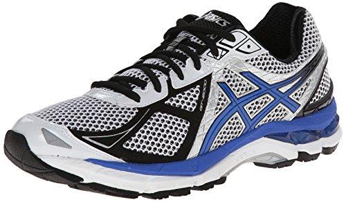 ASICS Men's Gt-2000 3 Running Shoe,White/Royal/Black,10 M US
