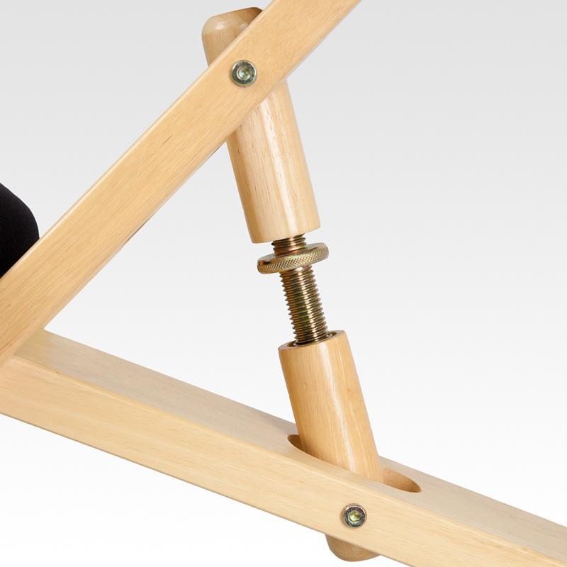 Flash Furniture Mobile Wooden Ergonomic Kneeling Chair Home Office