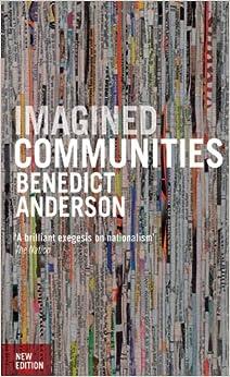 Benedict anderson imagined communities pdf writer