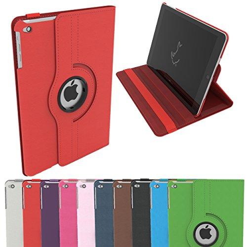Étui pour iPad 2 / 3 / 4, Étui Housse Intelligent Rotatif RC 360 en Cuir PU pour Apple iPad 2 / 3 / 4 avec Sommeil / Éveil (iPad 2 / iPad 3 / iPad 4, ...