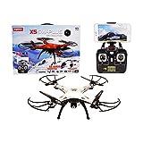 Syma X5SW Plus 2.4G 4CH 6-Axis Gyro RC Headless Quadcopter Drone With WiFi FPV Camera (Silver)