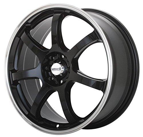 Maxxim Knight Black Wheel with Machined Lip (15×6.5″/5x100mm)