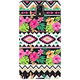 For Samsung Galaxy Note 3 :: Samsung Galaxy Note III :: Samsung Galaxy Note 3 N9002 :: Samsung Galaxy Note N9000 N9005 Floral Pattern ( Floral Pattern, Nice Pattern, Flower, Leaf, Pattern ) Printed Designer Back Case Cover By FashionCops