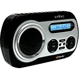 SPARC HD Radio SHD-TX2 Portable Radio With AM/FM & HD Radio Tuners Built-in Speaker And Emergency Alerts