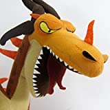 How To Train Your Dragon Flames Spree Doublecross Plush Toy 36Cm Stuffed Soft Doll Christmas Gift For Children Pla738