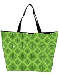 Snoogg Life Symptoms Green Trees Waterproof Bag Made Of High Strength Nylon