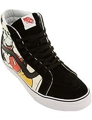Vans SK8-HI Reissue Disney Mickey Friends Black Unisex Sneakers VN-0ZA0GHE