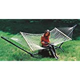 Hangit 48''W X 11'FT Cotton Rope Hammock