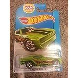 HOT WHEELS 1971 MUSTANG FUNNY CAR DIE-CAST, HOT WHEELS 50TH GREEN JASON RICHMAN MUSTANG FUNNY CAR