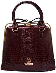 Omkar Shopy New Fashion Women's Ladies PU Hand Bag / Shoulder Bag / Sling Bag(maroon) OS125003413