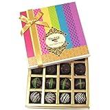 Dark Flavour Truffle Collection Gift Box - Chocholik Belgium Chocolates
