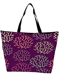Snoogg Seamless Pattern With Leaf Seamless Texture Can Be Used For Wallpaper Waterproof Bag Made Of High Strength...
