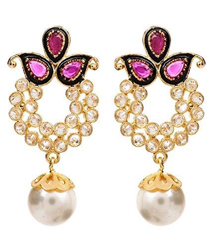 Akshim Multicolour Alloy Earrings For Women - B00NPYAJLI
