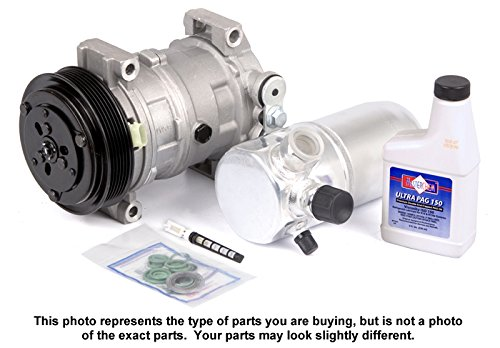 New Ac Compressor & Clutch With Complete A/C Repair Kit For Chevy Gmc Truck Suv – BuyAutoParts 60-80104RK New