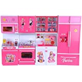 Elektra 4 Compartments Modern Kitchen Toy Set With Music And Lights