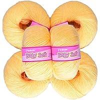 Vardhman Acrylic Knitting Wool, Pack Of 6 (Dark Cream) (Pack Of 14)
