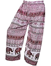 Women's Cotton Harem Pants Afghani Trousers - B06XYSJHDM