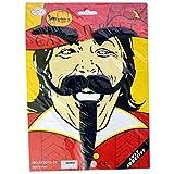 Self Adhesive Cavalier Facial Hair Kit (Beard, Moustache & Brow) - Self Adhesive Moustaches, Party Favors, Fake...