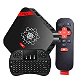 [2016 Latest TV BOX]COOLEAD[Free Wireless Mini Touchpad keyboard] 4K Smart TV Box Streaming Media Player Kodi 16.1 Full Loaded Android 6.0 Lollipop Amlogic S905X Quad Core CPU Support WiFi, HDMI, DLNA, Miracast Protocol