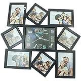 SAI JAGANNATH Glass Photo Frame (40 Cm X 3 Cm X 40 Cm, Black)