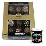 Exotic Treat Of Assorted Truffles With Birthday Mug - Chocholik Belgium Chocolates