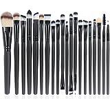 EmaxDesign 20 Pieces Makeup Brush Set Professional Face Eye Shadow Eyeliner Foundation Blush Lip Makeup Brushes...