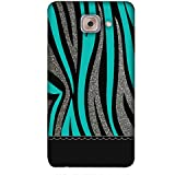 PrintVisa Designer Back Case Cover For Samsung Galaxy On Max (Background Texture Sky Blue Light )