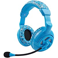 Einskey Computer Over-Ear Headphones Studio Headset With Microphone For Chatting And Gaming Camoflauge Blue Blue