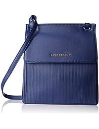 Lino Perros Women's Sling Bag (Blue) - B06XRZ2HRH
