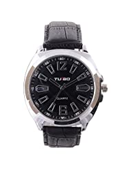 Turbo Youth Analogue White Dial Men's Watch - R104-001S