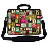 Meffort Inc 15 15.6 Inch Neoprene Laptop Bag Sleeve With Extra Side Pocket Soft Carrying Handle & Removable Shoulder... - B00CWIXUWS