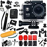 KoolCam AC300 HD 1080p H.264 Waterproof ACTION Camera / Camcorder For KIDS And Adults With A Super 170 Degree...