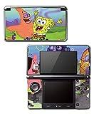 Spongebob Squarepants Sponge Bob Patrick Bikini Bottom Video Game Vinyl Decal Skin Sticker Cover for Original Nintendo 3DS System