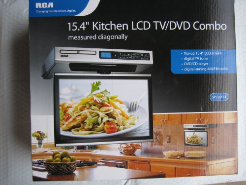 tv under cabinet kitchen rca kitchen lcd tv dvd combo 15 4 quot cabinet best 27360