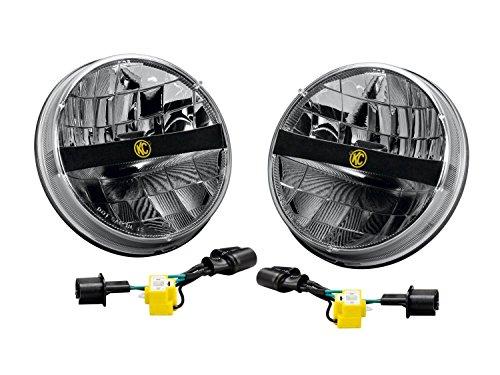 KC HiLiTES (42321) 7″ LED Headlight for Jeep JK – Pair