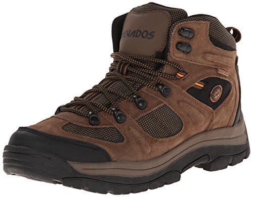 Men's Nevados Klondike Hikers Brown / Black / Orange, BRN/BL