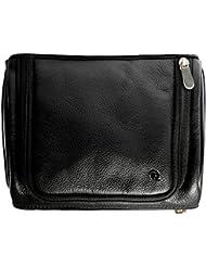 Hidepark Leather Multi-Colour Toiletry Kit Bag