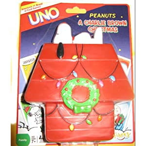Click to buy Charlie Brown Christmas Uno from Amazon!