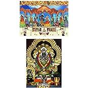 DollsofIndia Radha Krishna & Narasimha Avatar (2 Photographic Print) 7 X 5 In. - B01L42PE80