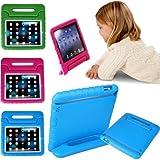 HDE Kids Light Weight Shock Proof Handle Case For Apple IPad Mini (Blue)