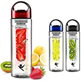 Fruit Infused Water Bottle- Create Your Favorite Flavors With This Water Bottle With Fruit Infuser. (Blue)