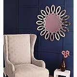 Venetian Design Sunflower Wall Mirror