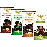 Chocholik Belgium Chocolate - Chocolates Delectable Surprises Of Delicious Chocolates Bars - 4 X 100gms