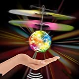 Diamond Fly Ball Cum Helicopter Toy For Kids With Light And IR Sensor Remote Control