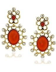 VK Jewels Sweet Alloy Drop Earring Set For Women & Girls -ERZ1221G [VKERZ1221G]