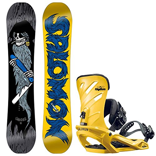 Herren Snowboard Set Salomon Sanchez 159 + Rhythm 2017