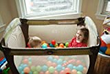 200 Heavy Duty Plastic Soft Air-Filled Pit Balls for Ball Pits, Baby Playpen, Pack 'n Play, Bounce Houses, Play Tents, Playhouses, Kiddie Pools, etc. / 5 Bright Colors; Exciting Fun Toy for Toddler, Baby, Kids and Young Adults / Crush Proof, Commercial Grade, Phthalate Free & PVC Free (200 Balls)