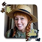 Danita Delimont - Portraits - Prince Edward Island, Anne Of Green Gables portrait-CN09 DBR0090 - Dave Bartruff - 10x10 Inch Puzzle (pzl_74415_2)
