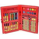 Sky Kidz 67 Pcs Art Set Mitashi Colour Collection (67 Pcs) Colouring Pens Sketch Pen Color Set Kit ORIGINAL 5+ SAFE For CHILDREN + Sketch Pen Color Set